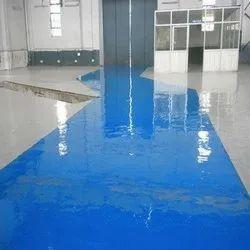Commercial Building Epoxy Polyurethane Flooring, For Indoor