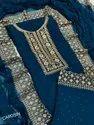Party Wear 8 Colour Fancy Georgette Salwar Kameez, Size: Unstitched