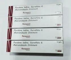 Povidone Iodine,Sucralfate ,Metronidazole Cream