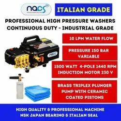 Portable Italian Grade Commercial Mobile Car Washer - Super Energy Saver & Continuous Duty Working