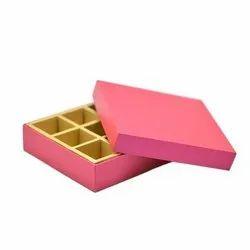 Cardboard Multicolor Sweet Boxes