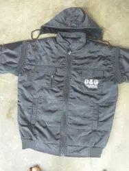 Woolen Collar Neck Men's Designer Jackets, Size: Large