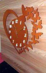 Rk wooden MDF Wall Clocks, Size: 15