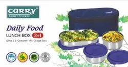 Daily Food Soft Touch Lunch Box
