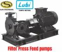LFB series - Feed Pumps, Single-stage Filter Press Feed pumps