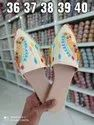 Embroidery Mules Wholesaler In Surat