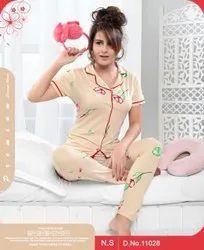 Cotton Sleep Wear Ladies Designer Nightwear, Age Group: 16 To 25