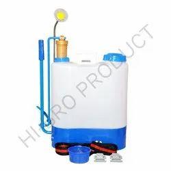 Manual Pump Plastic Barrel Knapsack Hand Pump Sprayer for Agriculture