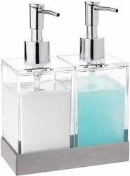 Double Liquid Soap Dispenser