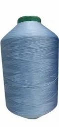 Polyester Sky Blue 150 0 Poly Dyed Yarn, For Textile Industry