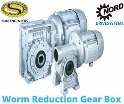 Worm Reduction Gear Boxes / Nord Worm Geared Motor