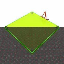 Green Fluorescent Acrylic Sheet