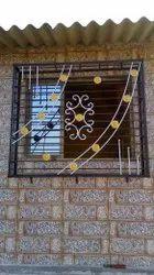 Mild Steel Home Window Grill