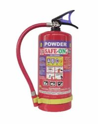 SAFE-ON 4 Kg ABC Type Fire Extinguisher