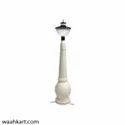 Metallic Color Fiber Lamp Post