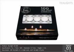 Tea Light Candles 10-100