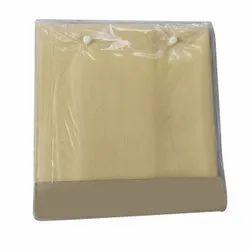 Polyester Viscose Fabrics Brown PV Shirting Fabric, Plain