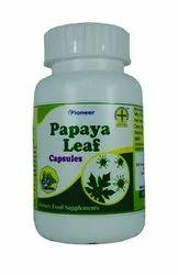 Papaya leaf capsule 60 capsules