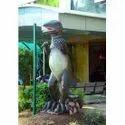 FRP Dinosaur Garden Statue- Life Size