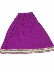Ladies Crepe Rayon Skirts
