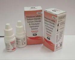 Potassium Lodide, Sodium chloride, Calcium Chloride & Chlorbutol Eye drops