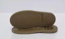 Brown PVC RANDAL FOOTWEAR SOLE, Size: 7 Number
