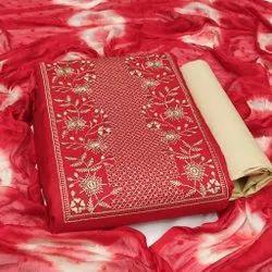 Embroidery Salwar Kameez Dupatta