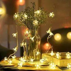 kreative kitchen 220 SILICONE WARM WHITE FLOWER LIGHT, For Decoration