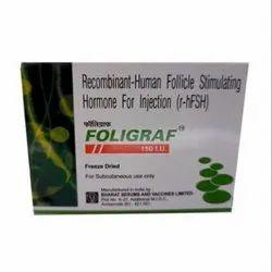 Urofollitropin Injections Bp 150 Iu