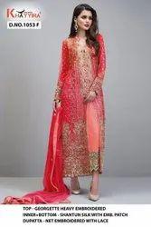 Khayyira Block Buster Hit Pakistani Dress material