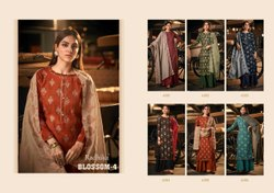 Azara Blossom 4 Ethnic Wear Designer Dress Material Collection
