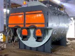 Coal Fired 3 TPH Fully Wetback Steam Boiler