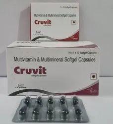 Multivitamin + Multivitamin Minerals Softgel Capsule