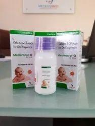 Cefixime 50 Mg + Ofloxacin 50 Mg Suspension