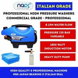 Italian Grade Professional Portable Car Washer with Induction Motor