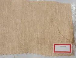Plain Embroidered Jute Fabric