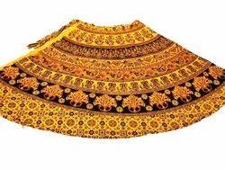 Hot Dye Wrap Around Skirt