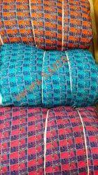 Printed Polyester Karara Print Fabric, Multicolour