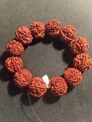 5 Mukhi  Rudraksha  Bracelet