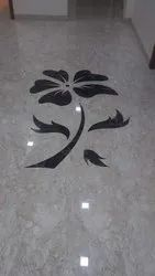 Marble Inlay Flooring Work, in Southern India