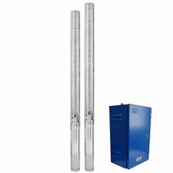 Lubi AC Stainless Steel Borewell Submersible Pump With Controller