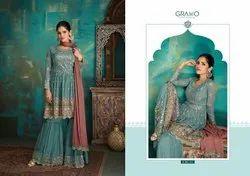 Ladies Designer Gharara suits