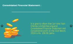 Consolidate Financial Statement