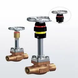 Series 2180 Shut-off valves for cryogenic applications