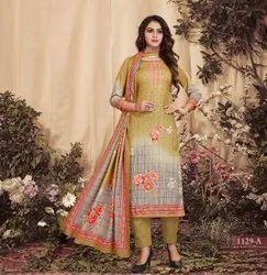 Winter Wear Pashmina Salwar Suits
