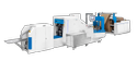 Kamsonic Kt-b220 Automatic Paper Bag Making Machine, Capacity: 30-250, 380v