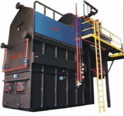 Agro Waste Fired 8000 kg/hr Steam Boiler