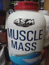 ASM Nutrition, Muscle Mass, Packaging Size: 6 LBS