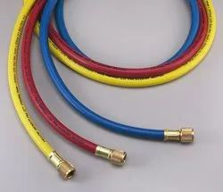 Refrigerant Hose ( made in USA by Yellow Jacket ) Plus II 3/8 B Charging Hose