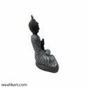 Gautam Buddha In Grey Shade